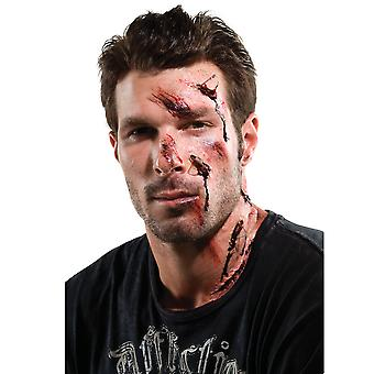Theatrical Effect Shattered Accident Wound Costumes Makeup Appliance Prosthetic
