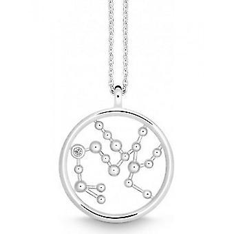 QUINN - Necklace - Ladies - Silver 925 - Wess. (H) / piqué - 0274289