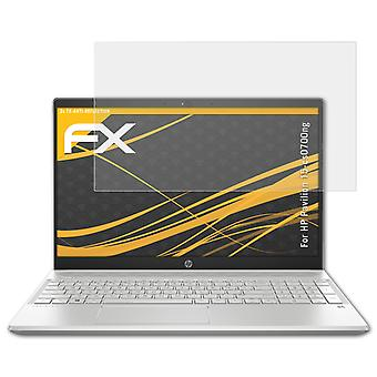atFoliX Glass Protector compatible with HP Pavilion 15-cs0700ng 9H Hybrid-Glass