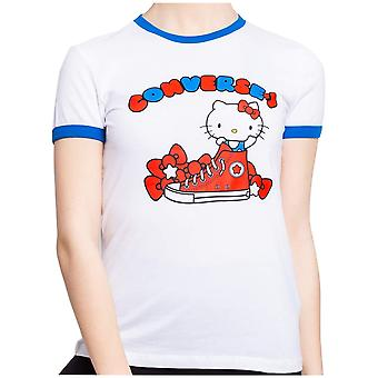 Converse X Hello Kitty 10017301A01   women t-shirt