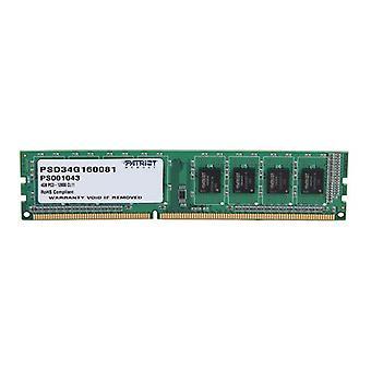 Patriot Signature Line 4Gb Ddr3 Ram 1600 512X8 Cl11