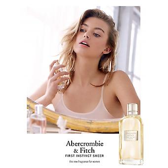 Abercrombie & Fitch First Instinct Sheer Eau de perfume 100 ml