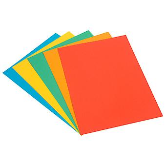 A3 Assorted Bright Coloured Card 220gsm Pack of 30