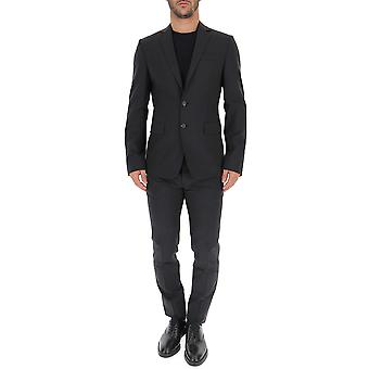 Dsquared2 S74ft0358s40320855 Männer's grau Wolle Anzug