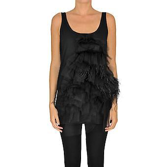 N°21 Ezgl068167 Women's Black Cotton Top