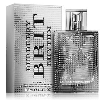 Burberry Brit Rhythm For Him Eau de Toilette Spray 50ml Burberry Brit Rhythm For Him Eau de Toilette Spray 50ml Burberry Brit Rhythm For Him Eau de Toilette Spray 50ml Burberry