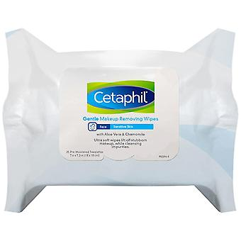 Cetaphil hydrating makeup removing wipes, 25 ea