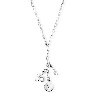 ChloBo Silver Strength Of The Moon Necklace