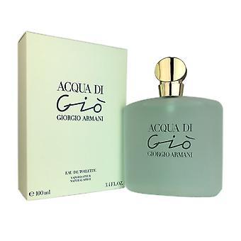 Acqua di gio for women by giorgio armani 3.4 oz eau de toilette spray