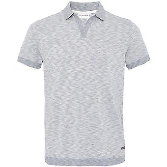 Baldessarini Cotton Linen Space Dye Pasquale Polo Shirt