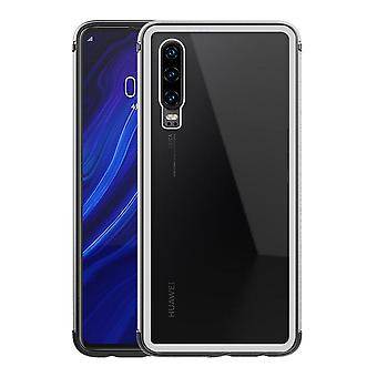 Huawei P30 Shell Transparant/Zilver