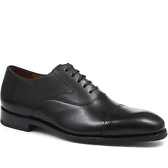 Jones Bootmaker Mens Goodyear Gelaste Lederen Oxford Toe Cap Schoen