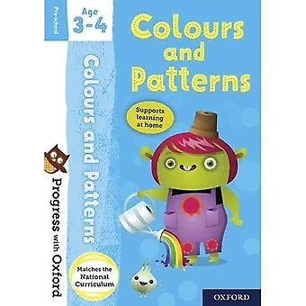 Progress with Oxford: Colours and Patterns Age 3-4 (Progress with Oxford)