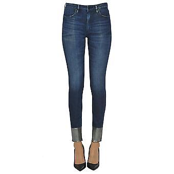 Dondup Ezgl030263 Women's Blue Cotton Jeans