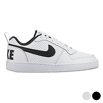 Sports Shoes for Kids Nike COURT BOROUGH LOW (GS) White Black (Usa size)/5.5Y