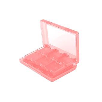 24 in 1 Game Card Case Houder Pink Box Nintendo 3DS DS Lite DSi & XL