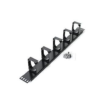Astrotek 1U Rack Mount Cable Management Metal Panel