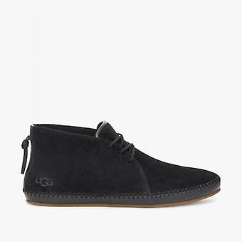 UGG Natia Dames Suede Desert Boots Noir