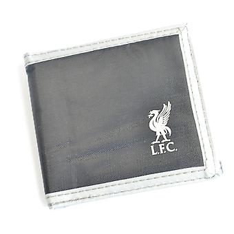 Liverpool FC Multi Pocket Football Wallet Purse Card Holder Grey