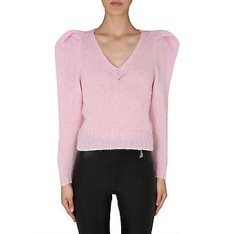 Filosofia por Lorenzo Serafini 09325704224 Women's Pink Wool Sweater