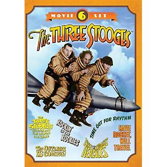 Three Stooges Collection-6-Movie Set [DVD] USA import