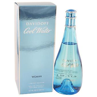 Agua fresca Eau De Toilette Spray por Davidoff 6.7 oz Eau De Toilette Spray