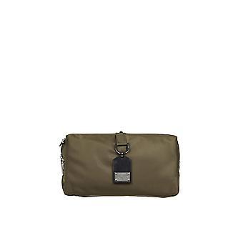 Dolce E Gabbana Bm1750aw3098b617 Men's Bolsa de tecido verde