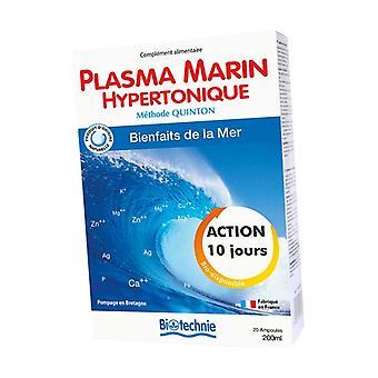 Hypertonic Marine Plasma 20 ampoules of 10ml
