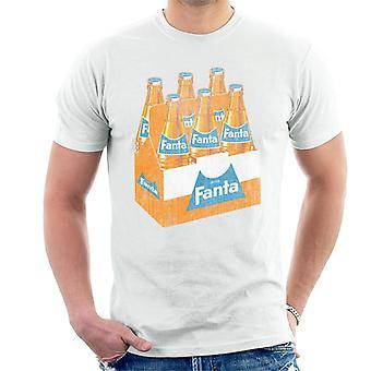 T-shirt dos homens da caixa da garrafa de Fanta retro 1960