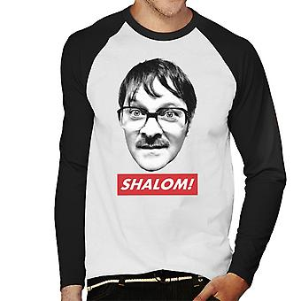 Friday Night Dinner Jim Shalom Men's Baseball Long Sleeved T-Shirt