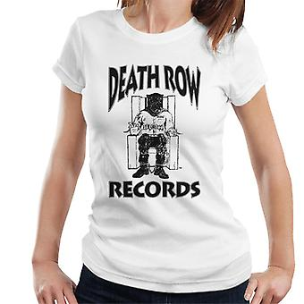 Death Row Records stoel Logo Black Women's T-Shirt