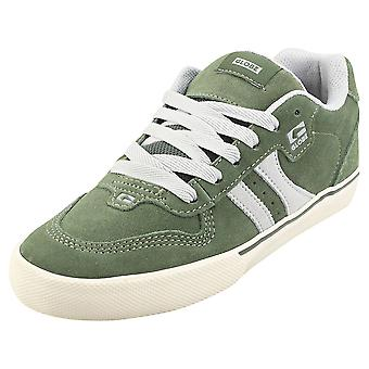 Globe Encore 2 Mens Skate Trainers in Green Grey