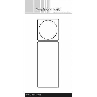 Enkel och grundläggande Lägg på för Bottle Label Die