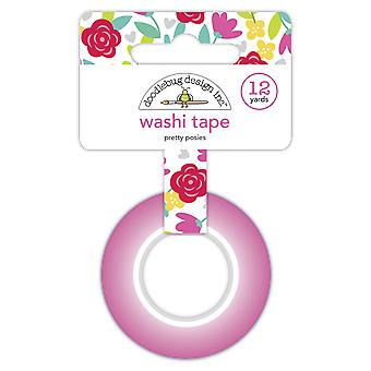 Doodlebug Diseño Pretty Posies Washi Tape