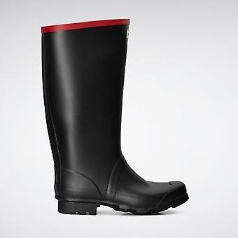 Hunter Argyll Knee Unisex Rubber Wellington Boots Black