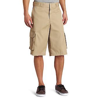 Dickies Men's 13 Inch Loose Fit Twill Cargo Short, Desert Sand, 44