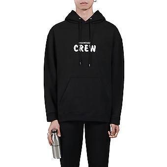 Balenciaga 600583tiv751070 Männer's schwarze Baumwolle Sweatshirt