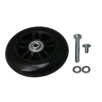 Wheelbarrow PU Luggage Wheel 90*26mm