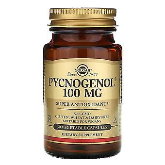 Solgar, Pycnogenol, 100 mg, 30 Vegetable Capsules