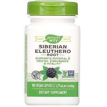 Nature's Way, Sibirische Eleutherowurzel, 1.275 mg, 100 vegane Kapseln