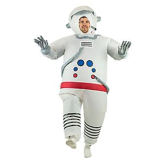 Inflatable Spaceman Halloween Costume Trick Or Treat One Size Fits All Adults