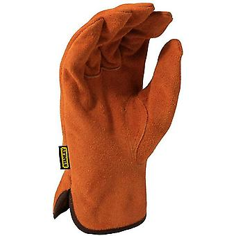 Stanley Mens Split Leather Cowhide Glove