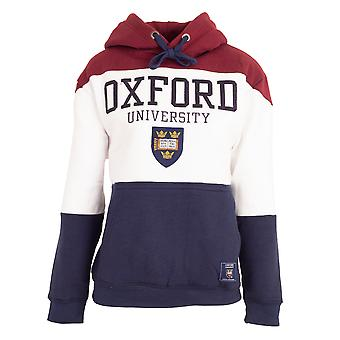 Oxford University Unisex Adults Crest Hoodie