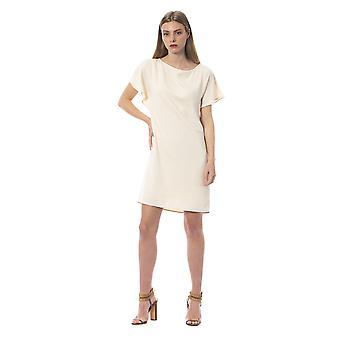 Trussardi Jeans W Cameo Dress TR995110-IT40-XS