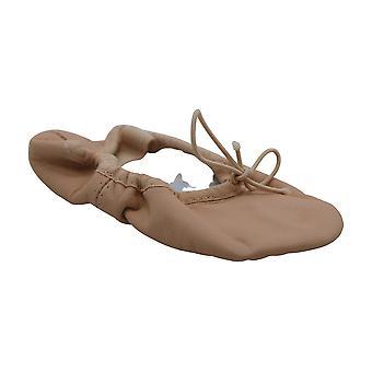 Bloch Girls Dance Dansoft Full Sole Leather Ballet Slipper/Shoe, Pink, 8.5 Wide Toddler
