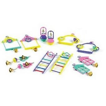 Classic Popular Bird Toys Assortment (12 Pieces)