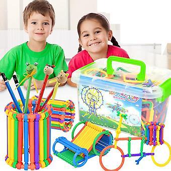 320pcs Smart Stick Building Blocks - Early Education Puzzle