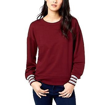 Maison Jules | Striped Cuff Pullover Sweater