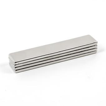 4pcs N35 Super Strong Cuboid Neodymium Magnet