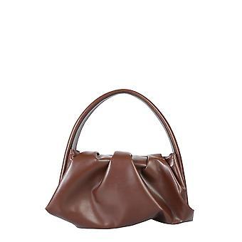 Themoirè Tmw20hn15 Women's Brown Polyurethane Shoulder Bag